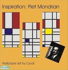 piet mondrian wallpaper set by csudi