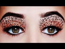 how to do cheetah makeup eyes