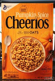 pumpkin e cheerios
