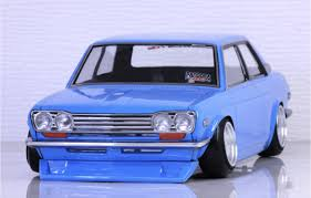 Nissan Datsun Blue Bird 510 1 10 Body Set Pandora Pab 2175 Super G R C Drift Arena Home