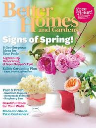 free subscription to better homes and