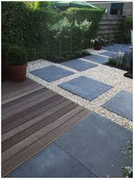 gravel decking patio ideas awesome