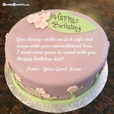 birthday cake for dad wishes message image your