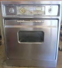 vintage ge oven range refrigerator