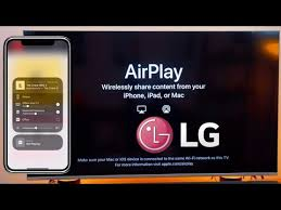 how to use apply airplay on lg tv you