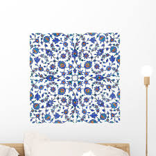 Ancient Turkish Tiles Wall Mural Decal By Wallmonkeys Vinyl Peel And Stick Graphic 18 In H X 18 In W Walmart Com Walmart Com