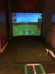 show us your golf cave simulator