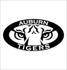 Auburn Tigers Decal North 49 Decals