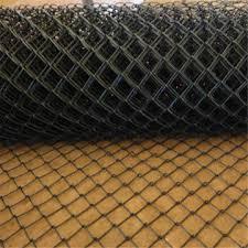 Black Vinyl Chain Link Swimming Pool Fence Bossgoo Com