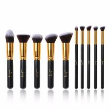 jessup 10pcs makeup brushes set kabuki