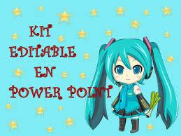 Kit Editable Cumpleanos Hatsune Miku Imprimible 130 68 En
