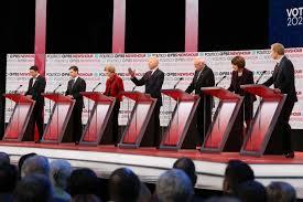 transcript the democratic debate the washington post