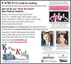 Keynote Speakers Announced for From the Heart Teen Fashion Festival | K is  for Kids