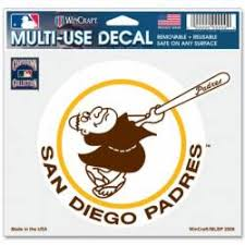 San Diego Padres Stickers Decals Bumper Stickers