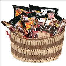 gourmet coffee gift basket with organic