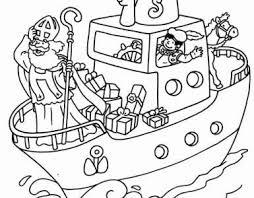 Zak Met Sinterklaas Cadeautjes Kleurplaat Kleurplaatje Nl