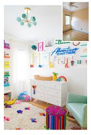 Colorful Kids Nursery Rainbow Room Home Design Ideas Kid Room Decor Colorful Kids Room Rainbow Room
