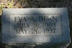 Eva Ada Dean (1903-1937) - Find A Grave Memorial