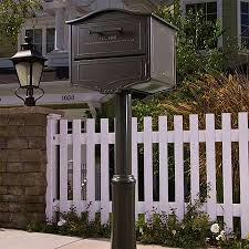 Home Mailbox On Fence Stunning Home In 22 Best Front Door Entry Images Pinterest Ideas 21 Mailbox On Fence Nice Home In Wooden Of A House Stock Photo Image Message 13 Mailbox
