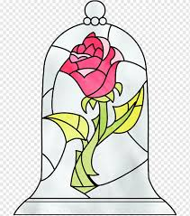 Beauty And The Beast Belle Sticker Mrs Potts Beauty And The Beast Window Flower Fictional Character Png Pngwing