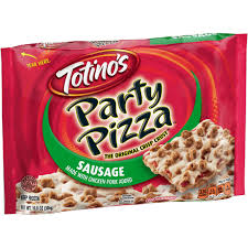 triple cheese party pizza pizza snack