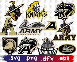 Fan Apparel Souvenirs Army Black Knights Vinyl Decal 2 Spartanburghistory Org