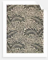 morris wallpaper larkspur design