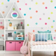 Dot Wall Decals 4 Candy Confetti Rainbow Polka Dot Decals Nursery W