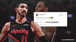 Lakers news: Enes Kanter roasts LeBron James after loss to Knicks