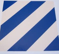 3rd Infantry Division Helmet Decal Man The Line