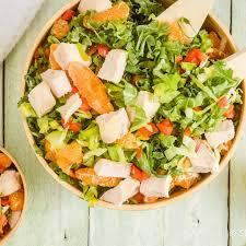 crunchy thai en salad slender