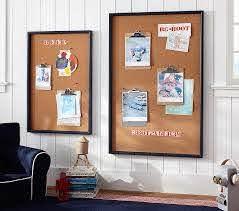 Framed Navy Kids Bulletin Board Pottery Barn Kids