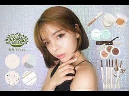 one brand makeup tutorial innisfree