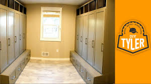 How To Build Lockers For A Mudroom Youtube