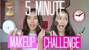 5 minute makeup challenge bahasa