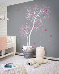 Baby Nursery Tree Decal Home Decor Tree Vinyl Wall Decal With Etsy