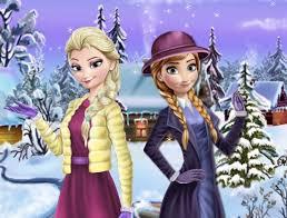 elsa and anna dress up games dresses