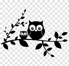 Owl Wall Decal Sticker Polyvinyl Chloride Vinyl Group Transparent Png
