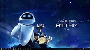wall e and eve wallpaper engine free
