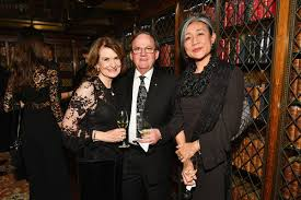 Diane Hoffman, Mariko Ikehara, Ivan Hoffman - Ivan Hoffman Photos - Getty  Medal Dinner 2017 - Zimbio