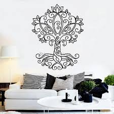 Simple Style Tree Of Life Vinyl Wall Decal Nature Ornament Wall Stickers Murals Removable High Quality Decals Arts Walls Sticker Murals Sticker On The Wall From Onlinegame 12 66 Dhgate Com