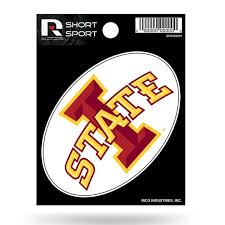 Iowa State Cyclones 3 X 2 Die Cut Decal Window Car Or Laptop Free Shipping Groupon