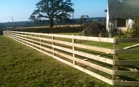 Wood Fence Post And Rail Wood Fence