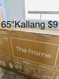 65 inch. Tv box. 55