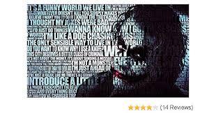 batman joker quotes heath ledger xxl over meter wide piece