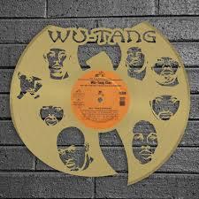 Wu Tang Vinyl Wall Art Vinylshop Us