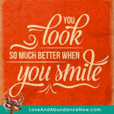 you look so much better when you smile grateful quotes