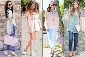 how to wear pastels for diffe