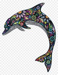 Dolphin Wall Decal Illustration Dolphin Wall Decal Illustration Free Transparent Png Clipart Images Download