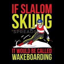 slalom skiing slalom skiing gift ideas